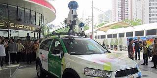 Mobil Foto Keliling Google Street View Beraksi di Jakarta