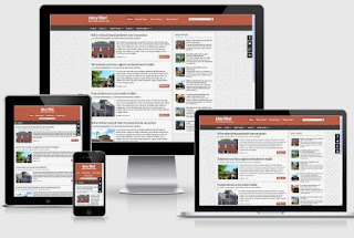 Johny Ribet responsive blogger template