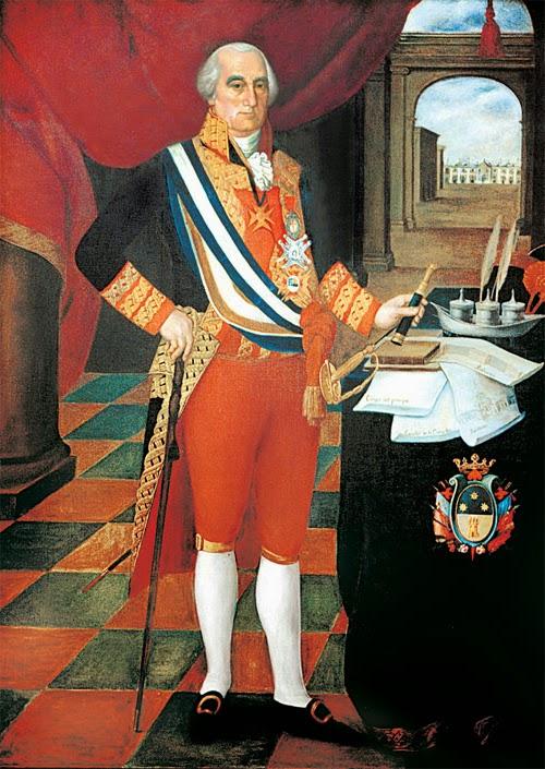 Pintura de José Fernando de Abascal