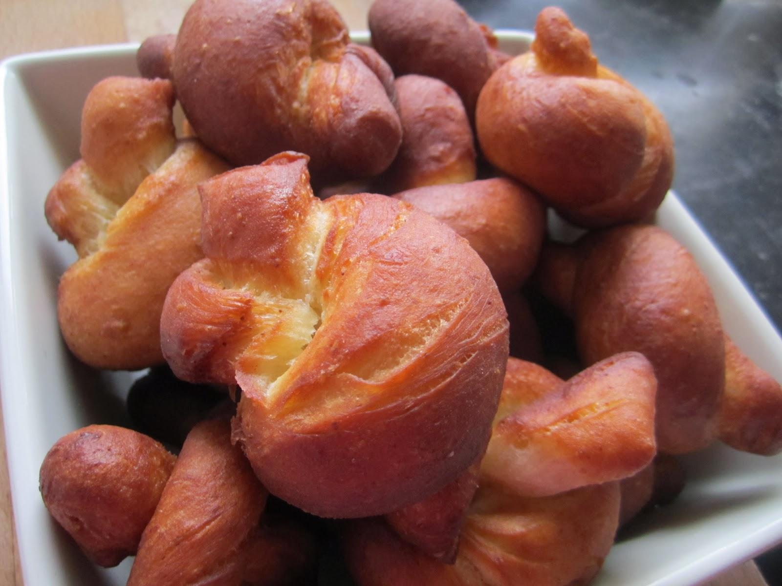 P te chou beignet en n ud saveurs d 39 ici mbuji mayi - Recette beignet au sucre moelleux ...