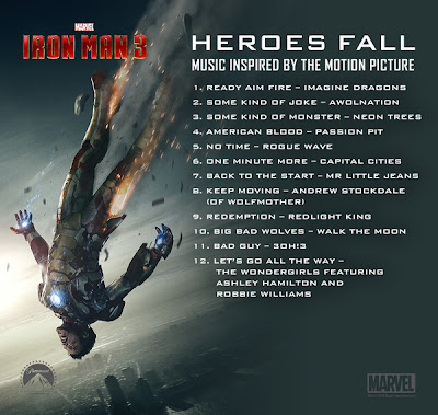 Iron Man 3 Heroes Fall Soundtrack