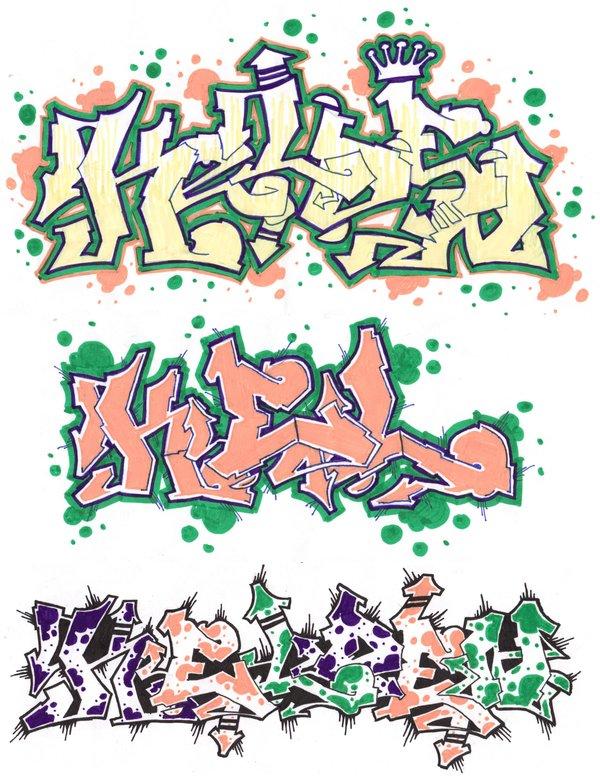 Graffiti Writing Style