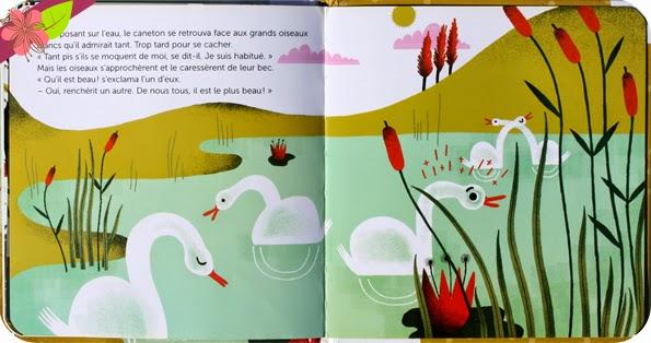 Le Vilain Petit Canard - Agnès Cathal et Amélie Falière - éditions Milan