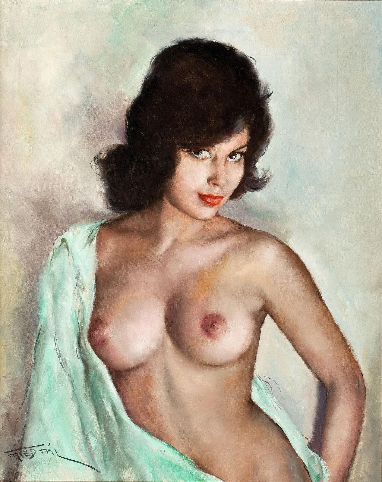 Картинки по запросу Pál Fried 1893 - 1976 nude