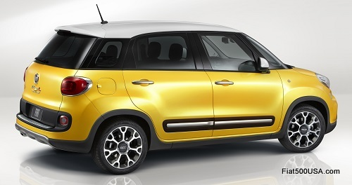 Fiat 500L Trekking US Version