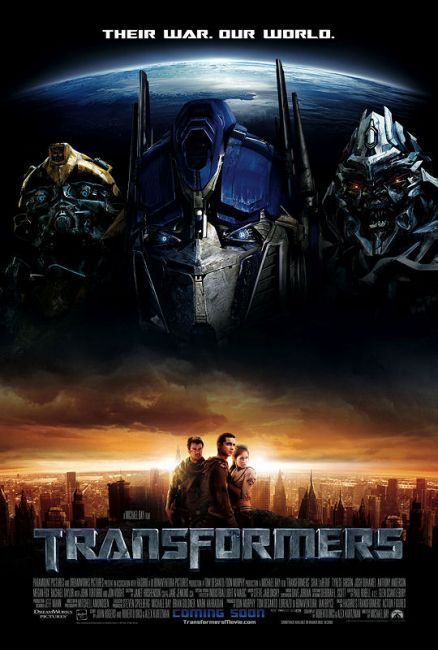 A Stock Photos: transformer movie poster