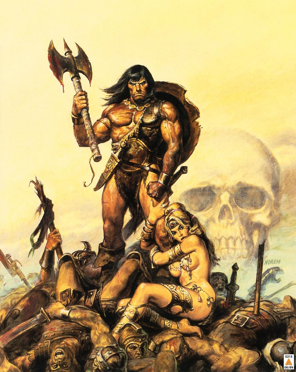 conan the barbarian Robert e howard's creation of conan the barbarian, a sword-and-sorcery fantasy icon, is about to get new life long after the author's untimely death arnold schwarzenegger became synonymous .
