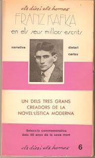 Colaboración en la antología sobre Franz Kafka