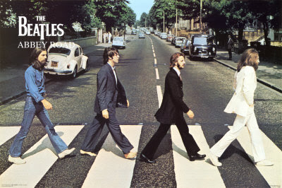 strisce beatles