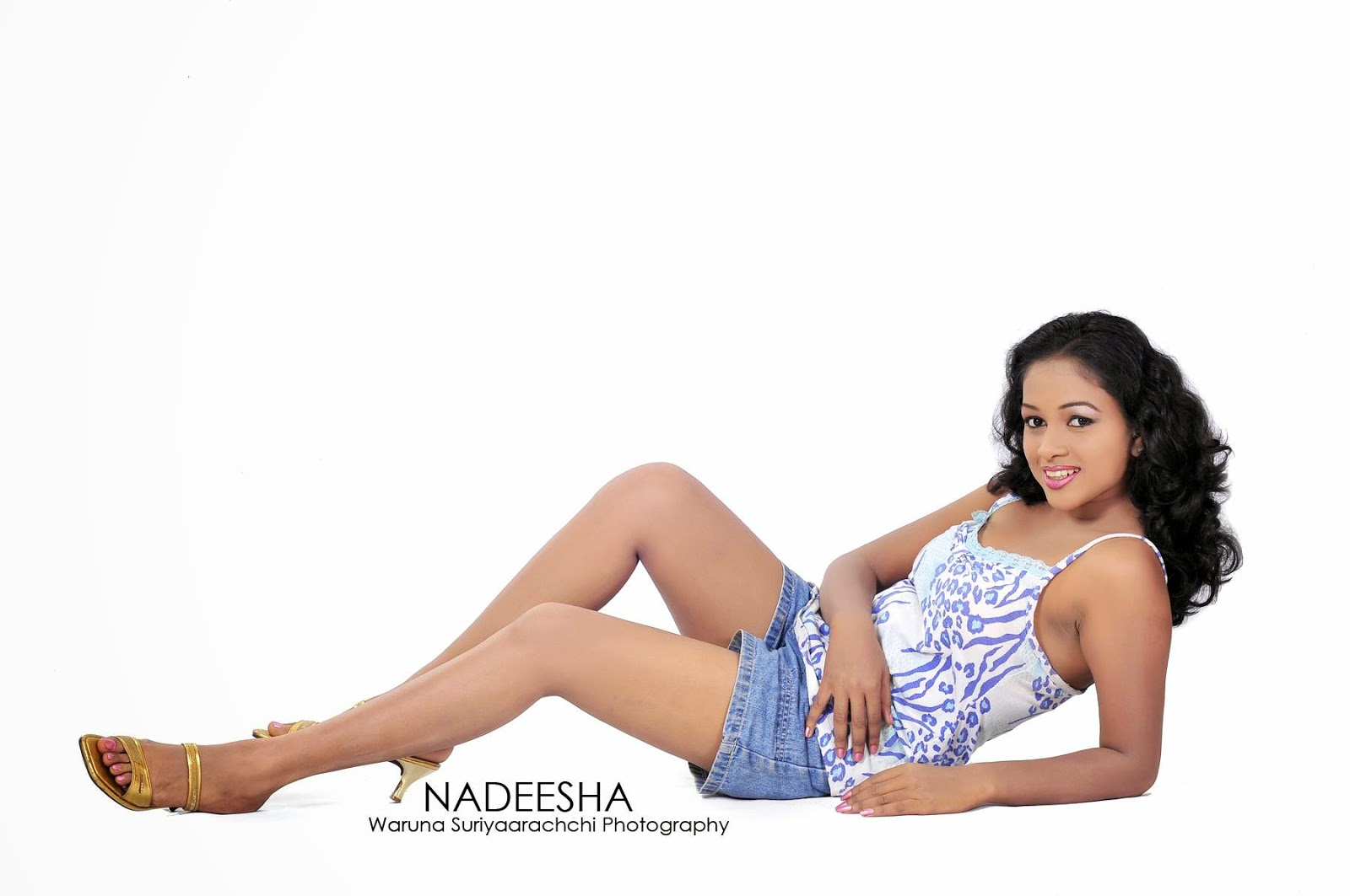 Nadeesha blue shorts