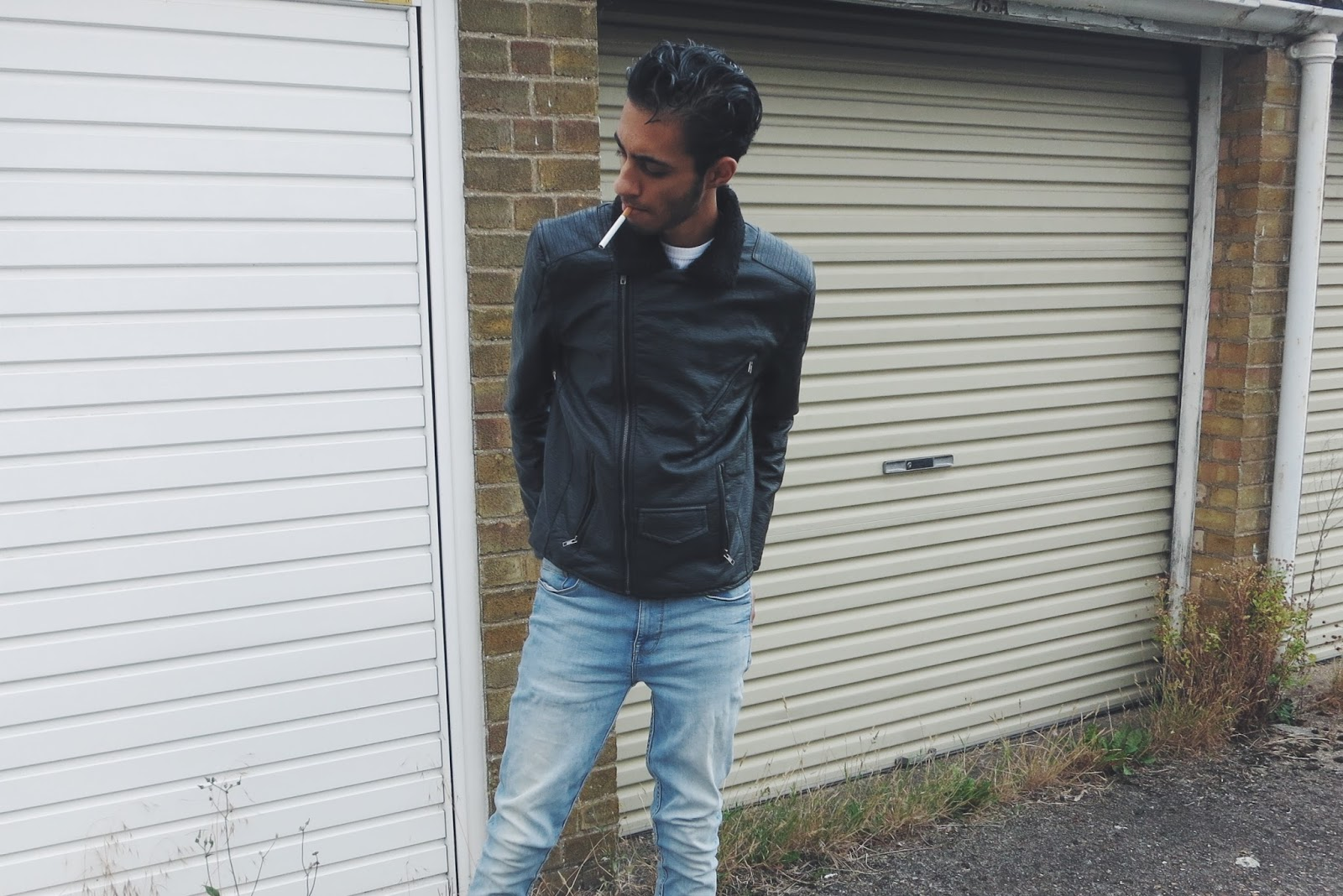 Nana Judy Black Leather Jacket