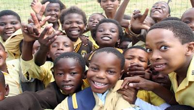 school student enjoying in Nigeria