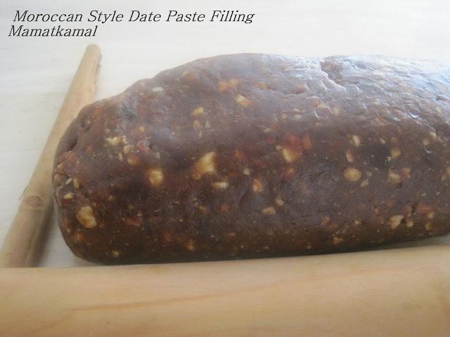 south morocco style date paste filling / pâte de dattes style marocain, région de souss, sud du royaume!