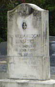 This tombstone, of a World War II sergeant shot down over Berlin, .
