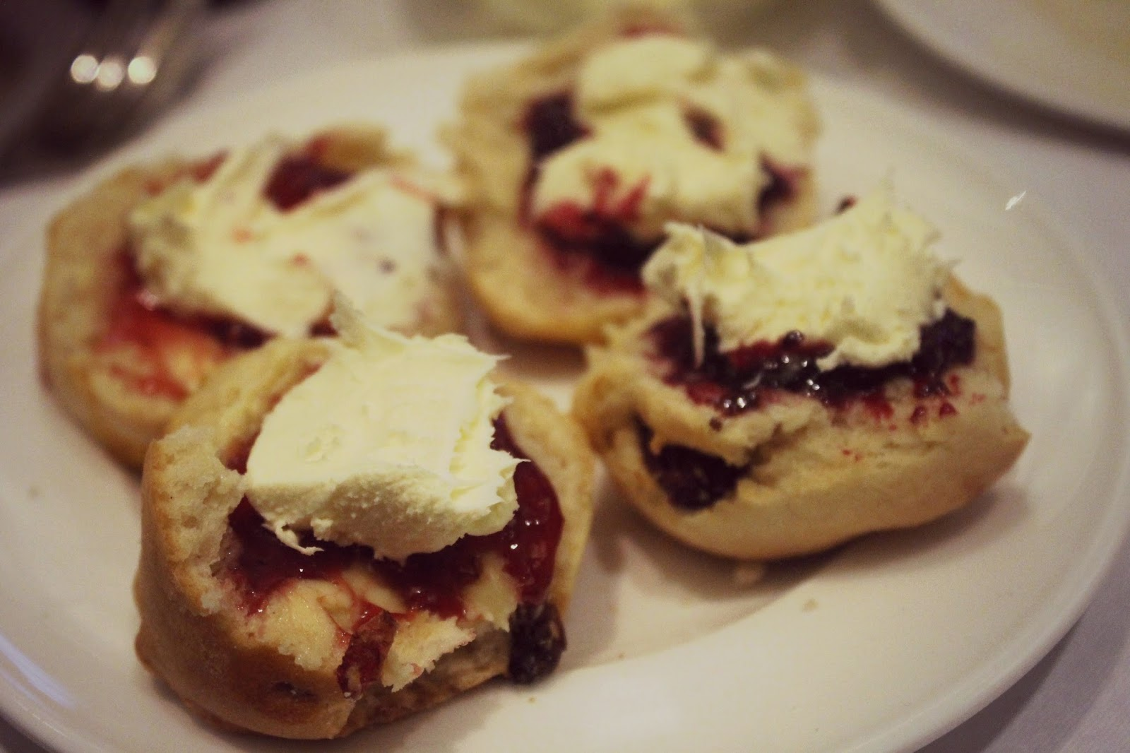 jam and cream scones york