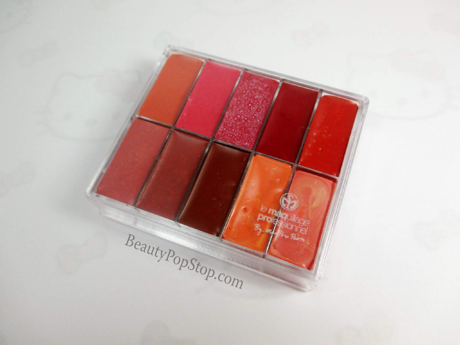 maqpro lip and rouge palette pp18 review