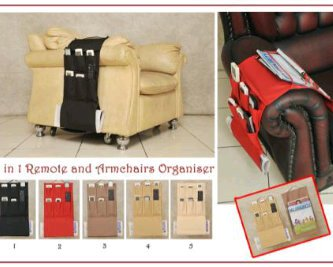 Lovely 2in1 Remote Bag U0026 Armchair Organizer Rp. 80.000,