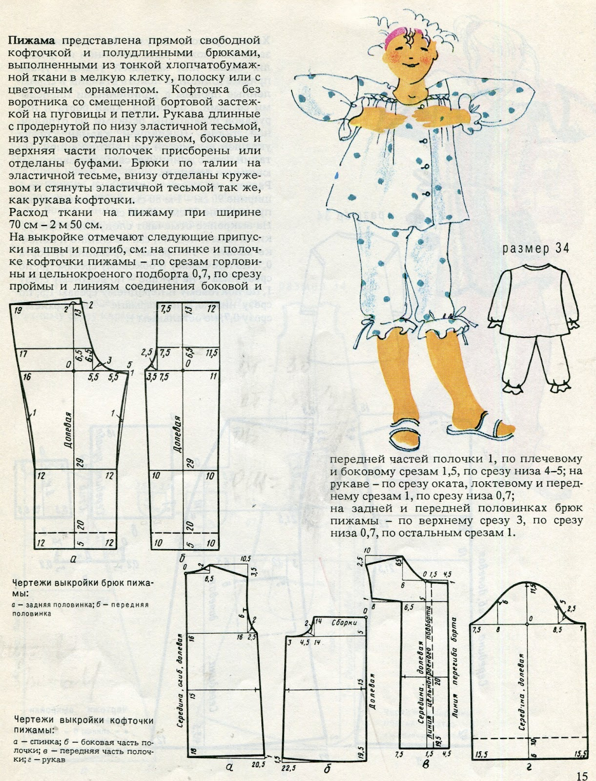 Как сшить домашние штаны