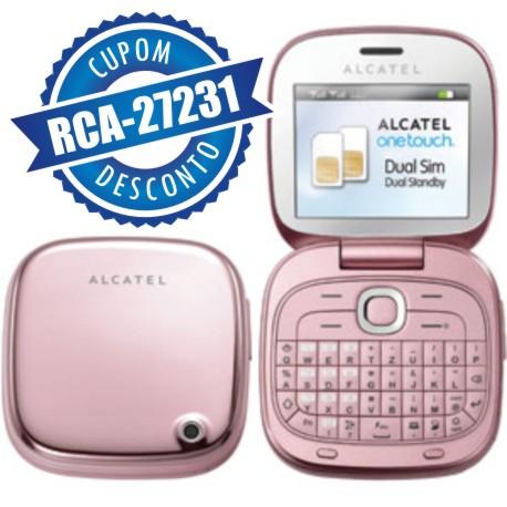 Cupom Efácil - Celular Alcatel Onetouch OT810 Dual Chip