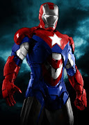 . de la armadura Iron Patriot dentro del argumento de 'Iron Man 3'.