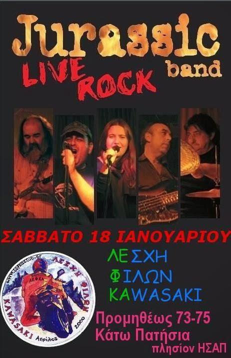 Jurrasic Band live