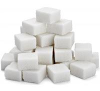 Cubes of sugar in a triangular pile