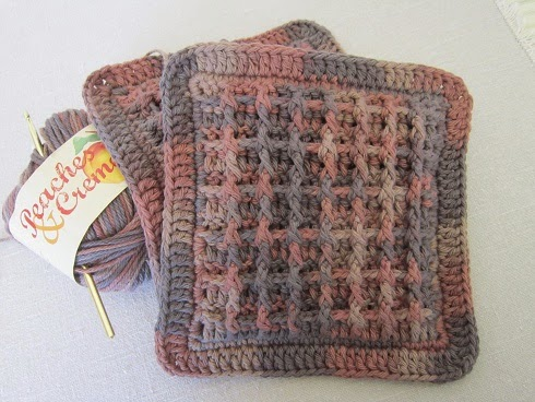 Miss Abigails Hope Chest Tutorial Brown Waffle Weave Hot Pads