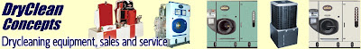 New and Used drycleaning, dry cleaner and laundry equipment for sale