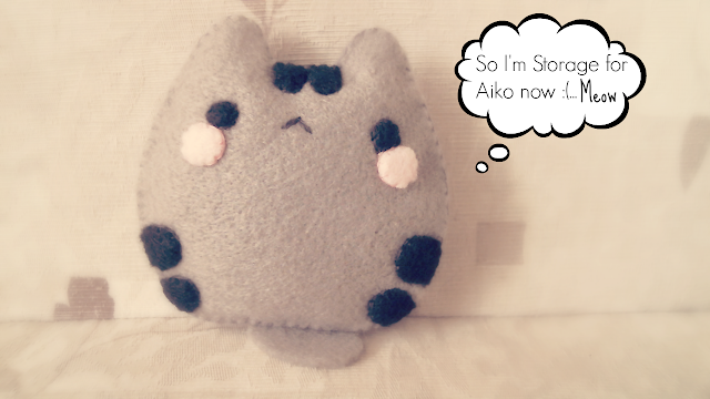 pusheen cat, kitty, cute, plush, plushie, plushy