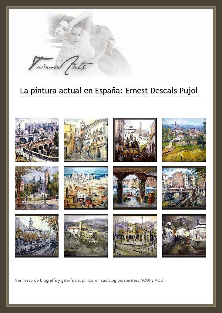 PINTURA ACTUAL-PINTURA-ESPAÑA-PINTOR-ERNEST DESCALS