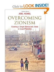 http://www.amazon.com/Overcoming-Zionism-Creating-Democratic-Palestine/dp/0745325696