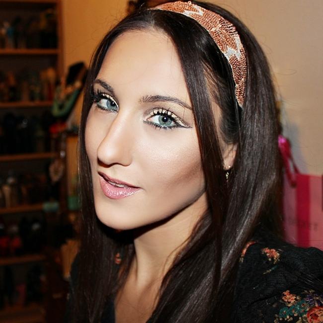 Instagram @lelazivanovic. New Year's Eve makeup . Novogodisnji mejkap. Makeup by Jelena Zivanovic.
