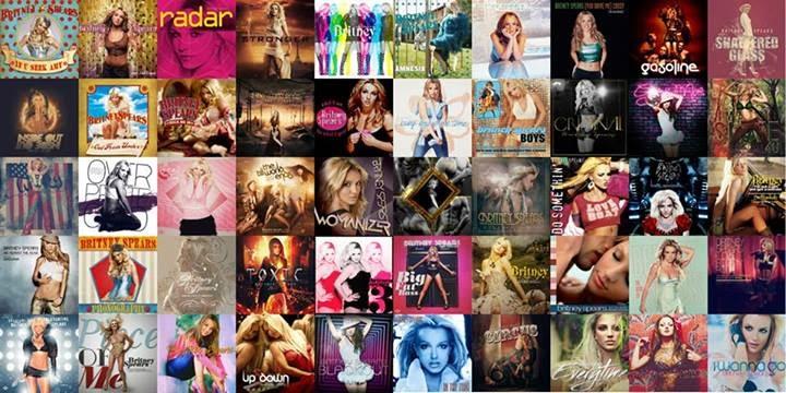 Las Mejores 50 rolas De Britney Spears