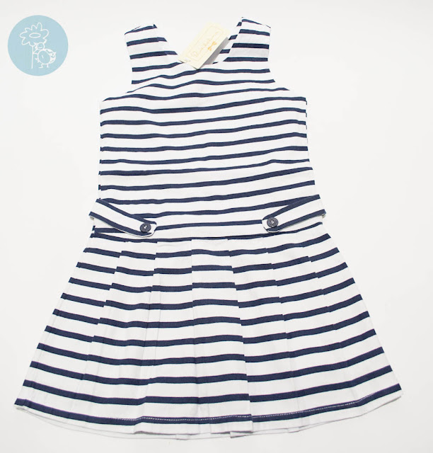 Vestido infantil marinero Bimbalina en Tienda y Blog moda infantil Retamal