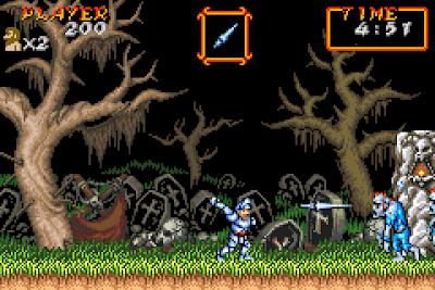 【GBA】超魔界村R+金手指+流程攻略+Rom下載,經典動作冒險遊戲!