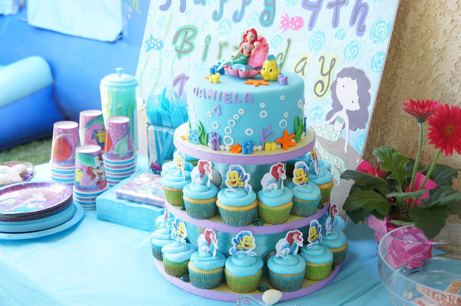 Karinas Kakes The Little Mermaid Cake