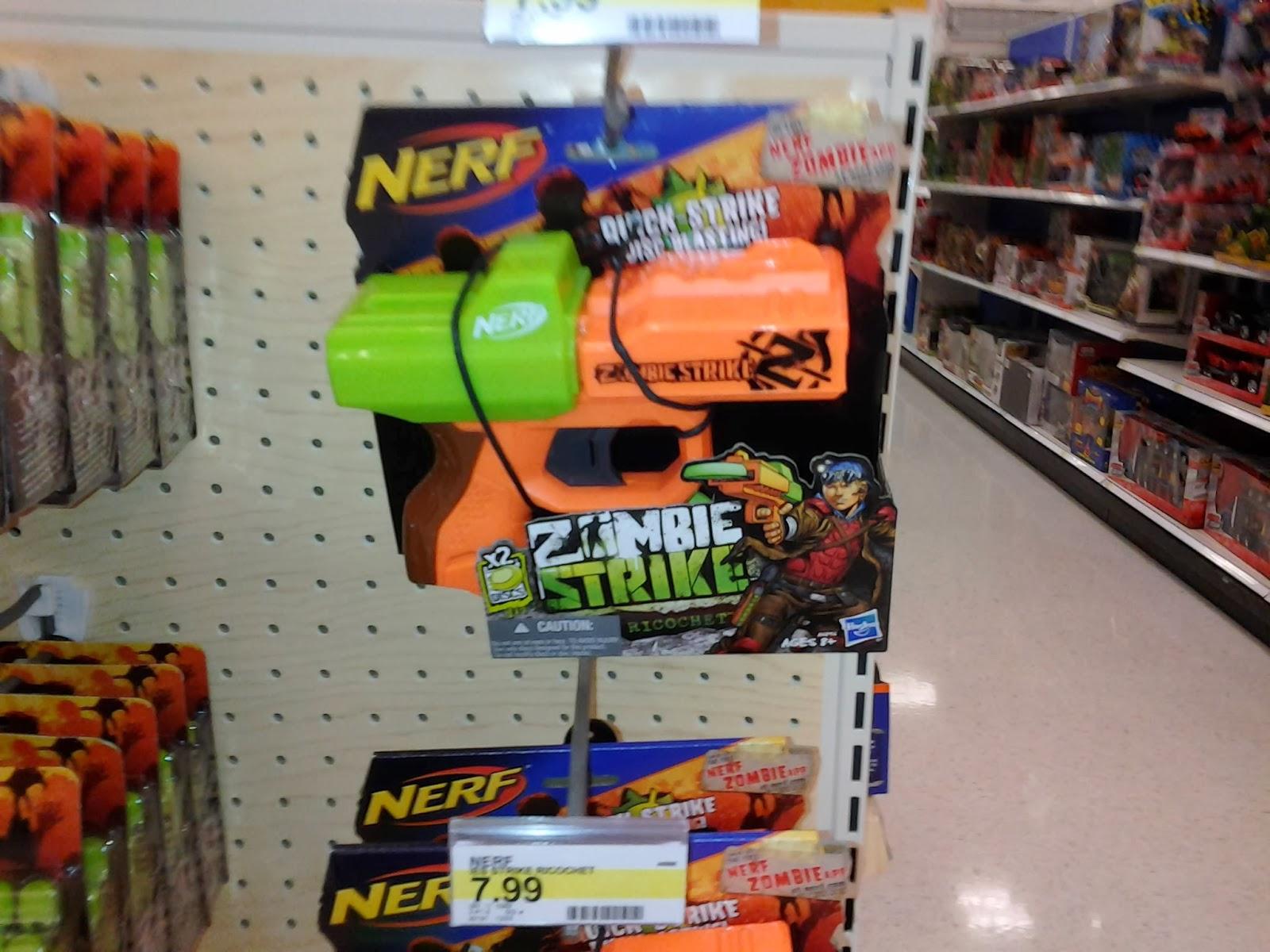 Nerf Zombie Strike Ricochet Teardown and Review