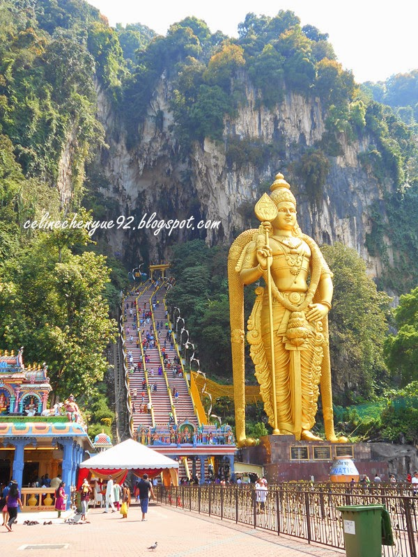 how to go to batu caves from kl by train