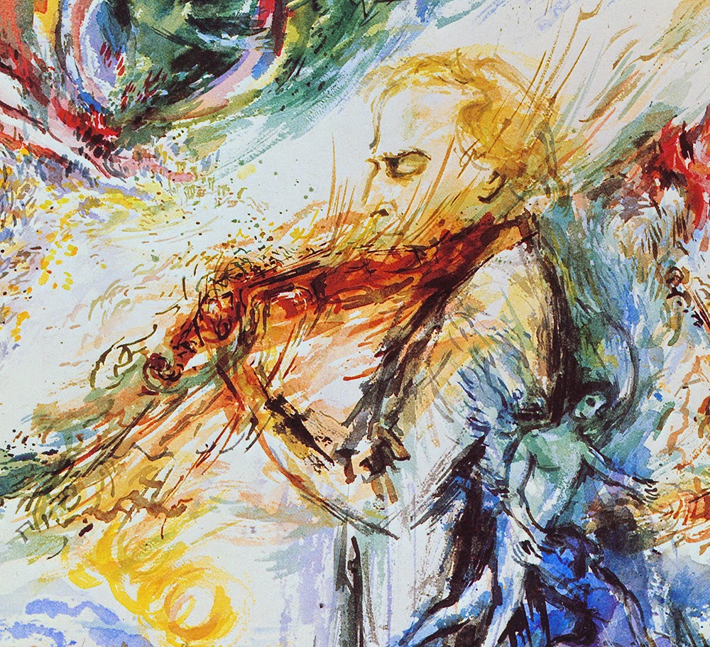 Norman Perryman: A Life Painting Music: December 2014 Chagall Afbeeldingen