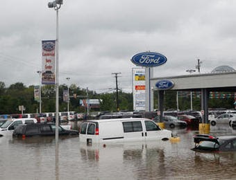 "All Star Ford Denham Springs >> A Priest Life ((((,,)))): Upper Marlboro flooding puts Ford dealer ""under water"", Route 301 closed"