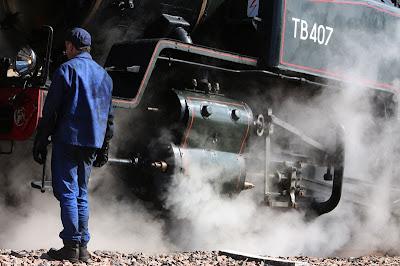 train vapeur ancien mécanicien ferroviaire AJECTA fête Longueville Seine-et-Marne