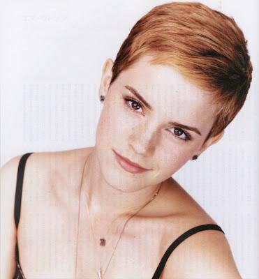 Emma Watson Short Pixie Hairstyles