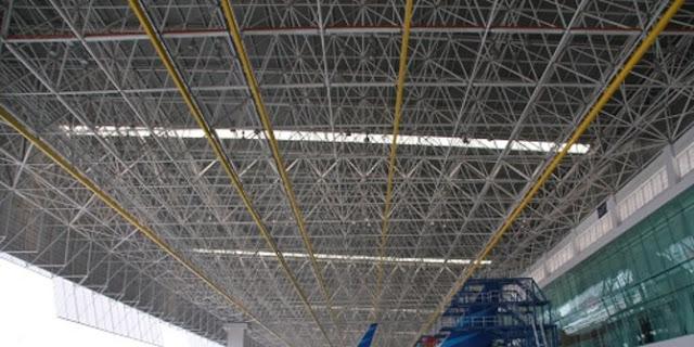 Hanggar Garuda Indonesia Ramah Lingkungan