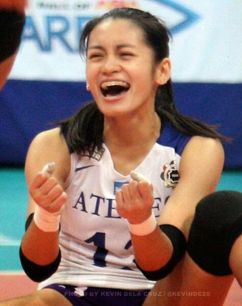 Uaap Ateneo Denden Lazaro Womens Volleyball Picture
