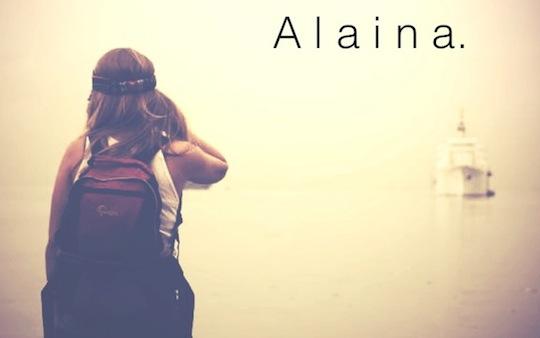 Je m'appelle Alaina