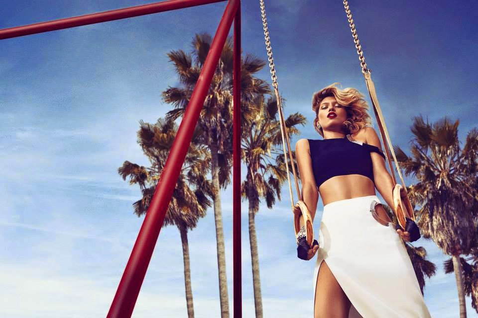 Beymen Spring/Summer 2015 Campaign featuring Hana Jirickova