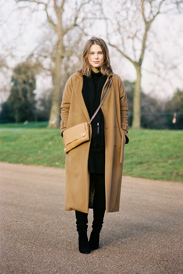 The beautiful sabrina meijer from after drk blog after burberry