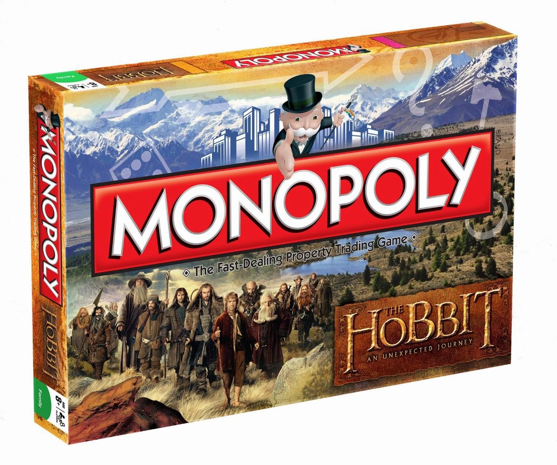 Monopoly el hobit, the hobbit