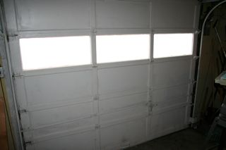 How to sorta kinda insulate your old garage for R value of old wood garage door