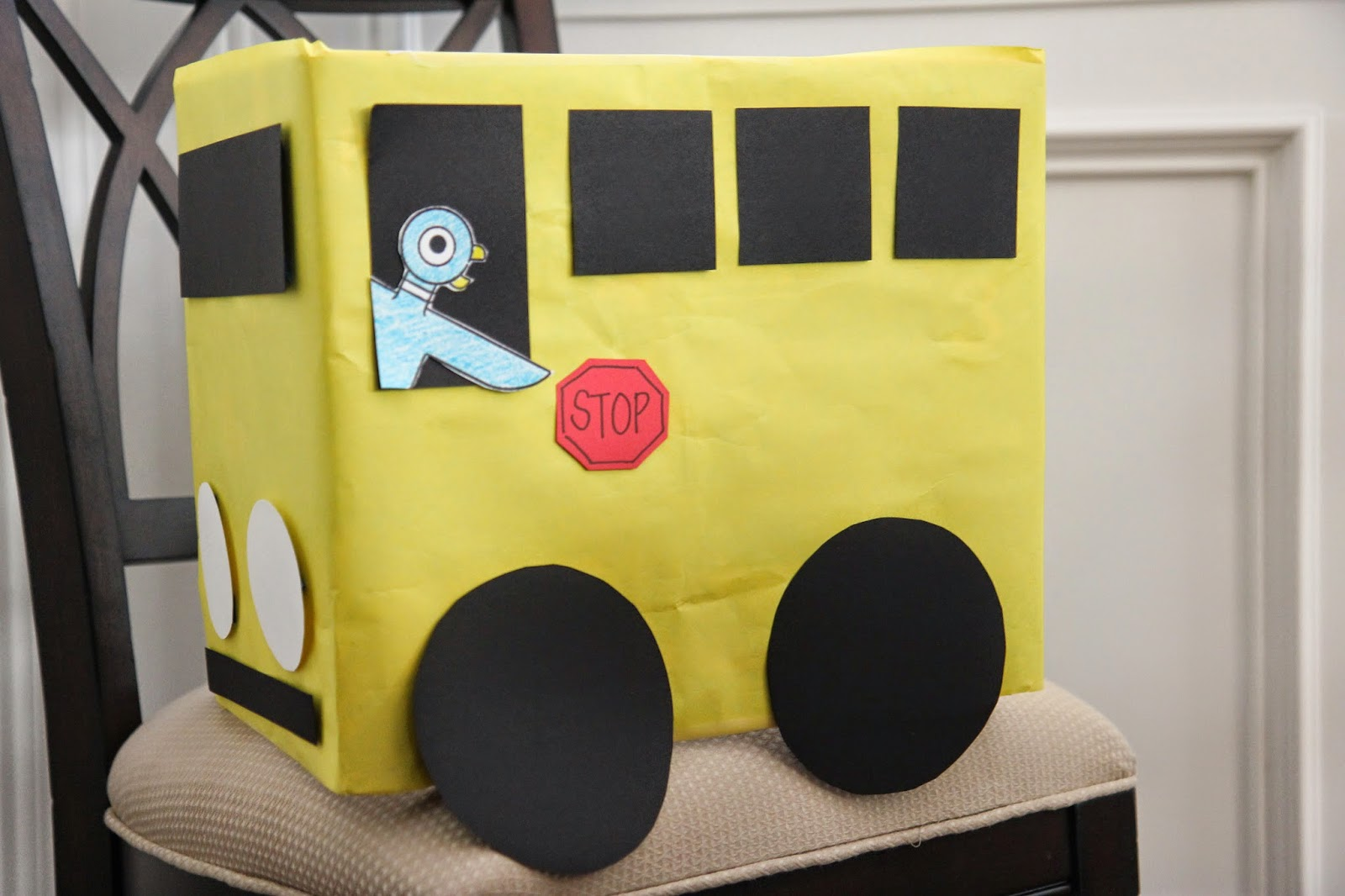 Cardboard Crafts For Toddlers The Cardboard Box Bus Craft